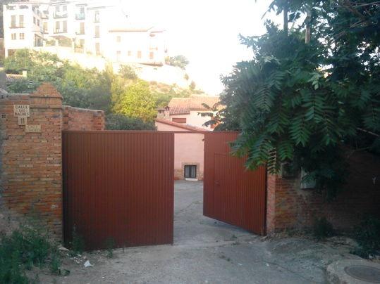 Entrada a la propiedad